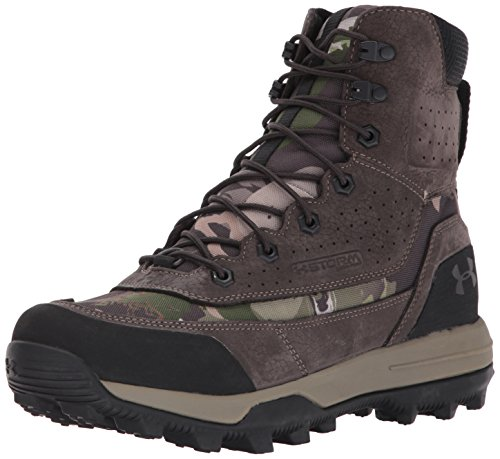Under Armour Men's SF Bozeman 2.0 Ankle Boot, Ridge Reaper Camo Fo (943)/Cannon, 10 M US