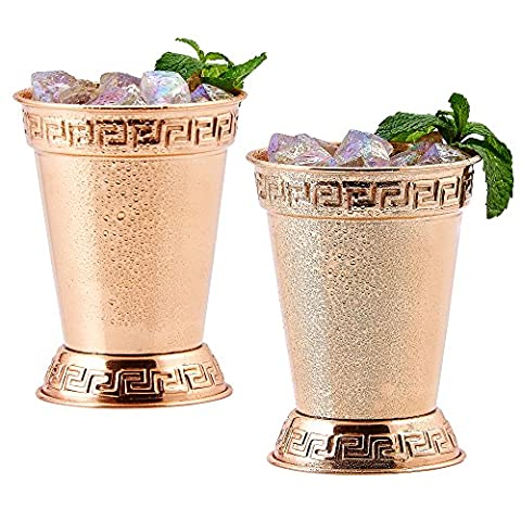 Old Dutch Mint Julep Cups (Set of 2), 12 oz, Copper