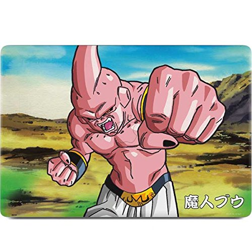 Skinit Dragon Ball Z MacBook Pro 15-inch with Touch Bar (2016-18) Skin - Majin Buu Power Punch Design - Ultra Thin, Lightweight Vinyl Decal Protection