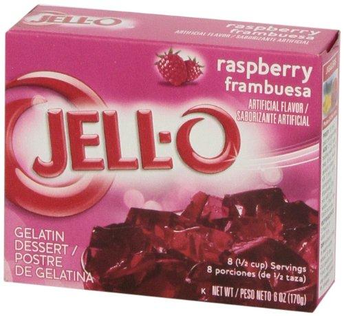 Jell-O Raspberry Gelatin Dessert Mix, 6 oz Box by Jell-O (Image #6)