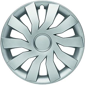 ALBRECHT automotive 49214 Car Wheel Trims Aruba 14  inches Black Plus 1 Set of 4 Units