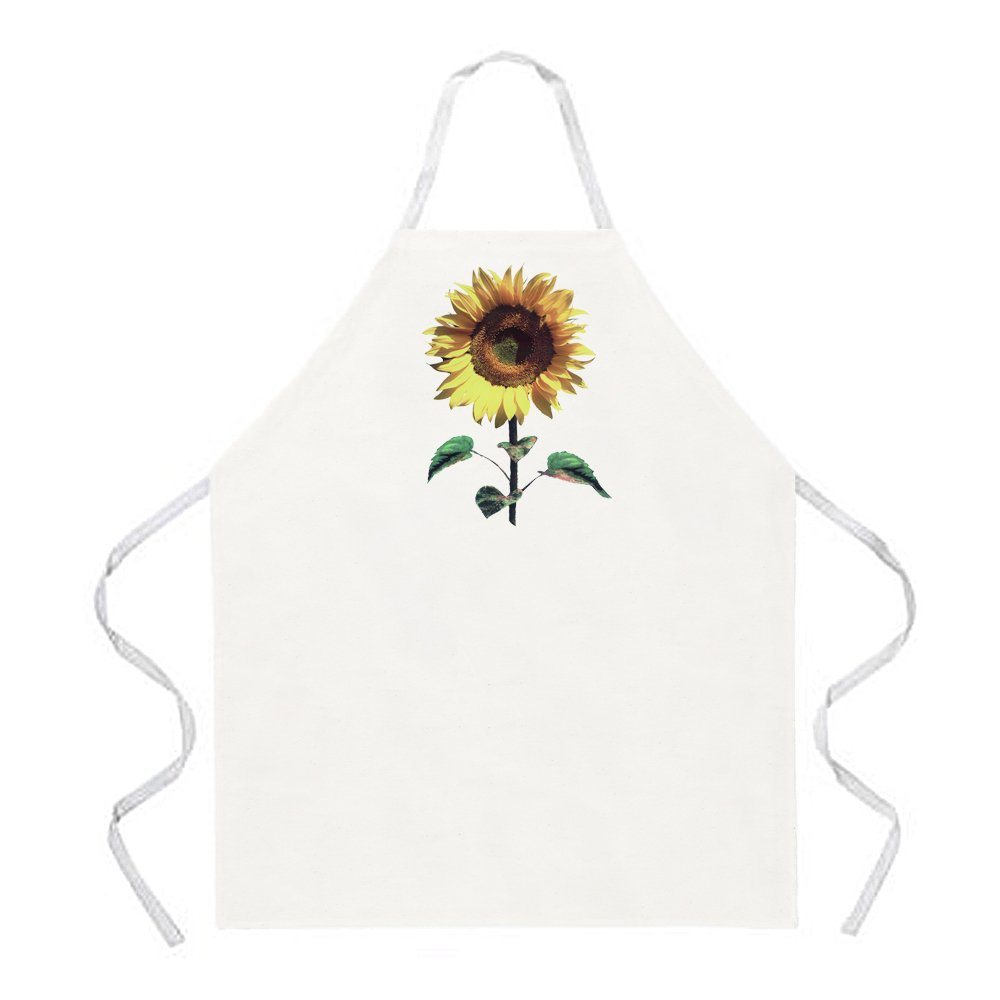 Attitude Apron Sunflower Apron, Natural, One Size Fits Most