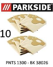 10Sacs d'aspirateur Parkside PNTS 130020L Lidl BK 38026Marron 906–05–Parkside Aspirateur sec humide