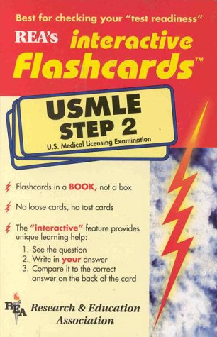 REA's Interactive Flashcards: USMLE Step 2 (Pt.2)