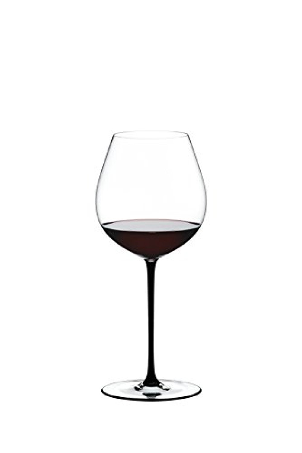 Riedel Fatto A Mano Old World Pinot Noir Wine Glass , Black