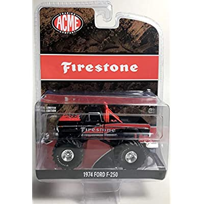 GREENLIGHT 51272 Firestone 1974 Ford F-250 Monster Truck DIECAST 1:64 Acme Exclusive: Toys & Games