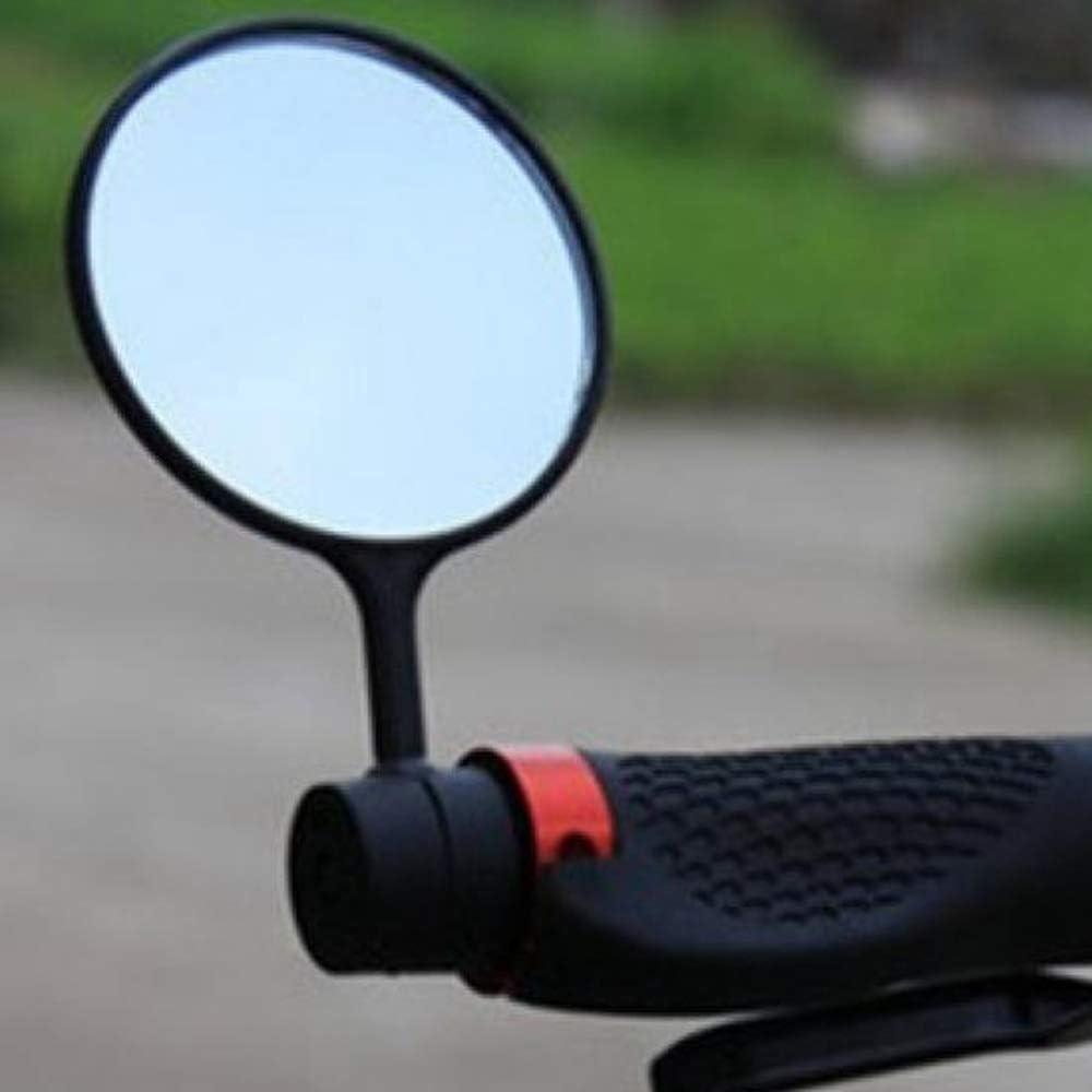 Bicicleta Espejo Cyclop/ /Espejo retrovisor para bicicleta//E-Bike//Roller//Mofa//silla//Andador//Carrito//Golf Cart con cuello de cisne Espejo Tama/ño: 28/cm * 8/* 0.6, Tubo de montaje,