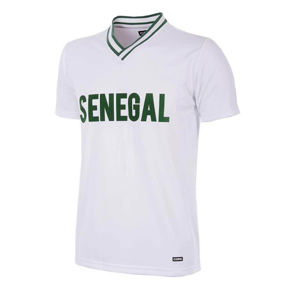Copa Senegal Retro Trikot 2000 weiß-grün
