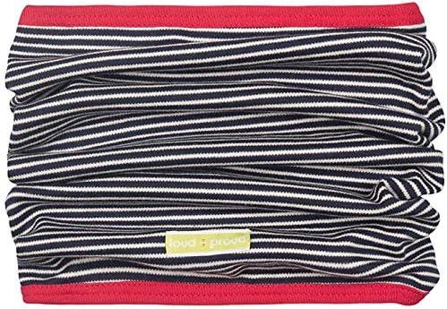 loud proud Unisex Baby Schlauchschal GOTS Zertifiziert Schal aus Bio Baumwolle