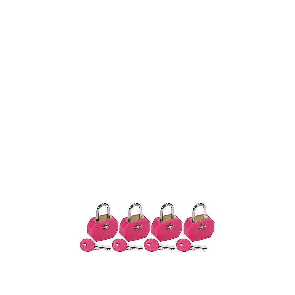 Pink 18798 P66353 Clark TSA Padlocks//4 pack Lewis N