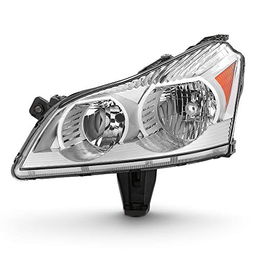 ACANII - For 2009-2012 Chevy Traverse LS & LT Model Headlight Headlamp Replacement Left Driver Side