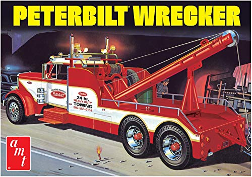AMT 1133 1/25 Peterbilt 359 Wrecker Model Kit (Model Peterbilt)