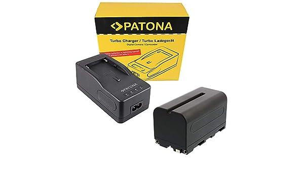 Patona cargador rápido para Sony bateria np-f550 f750 f960 f970 f990 NP-F serie