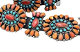 Alice Lister, Concho Belt, Turquoise, Spiny Oyster Shell, Navajo Made, 17 Pcs