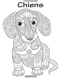 Coloriage adulte chien - Chat a colorier adulte ...
