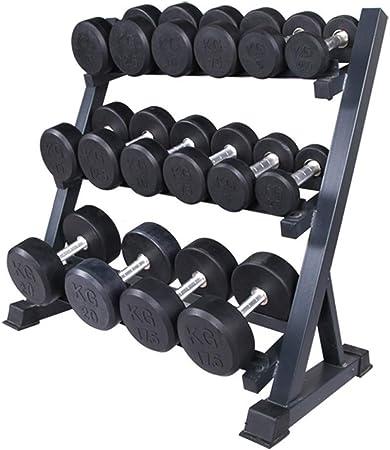 Porta Pesi Rastrelliera Espositore Manubri Palestra Fitness Workout Dumbbell