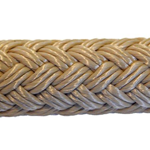 (Samson EQ Braid Double Braid Polyester Yacht Rope 1/2