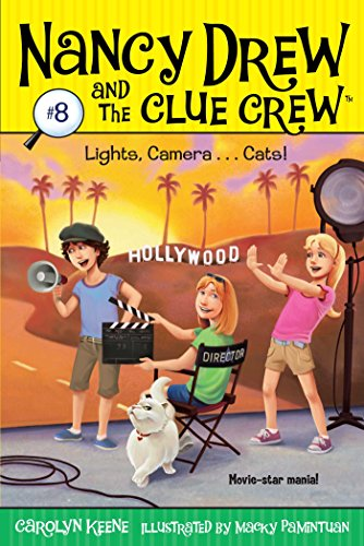 Lights, Camera . . . Cats! (Nancy Drew and the Clue Crew Book 8) ()
