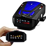 Radar Detector, Voice Alert and Car Speed Alarm System with 360 Degree Detection, City/Highway Mode Radar Detectors for Cars For Sale