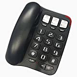 Yiding Practical English Telephone Versatile One Key Dialing Landline for Old Man