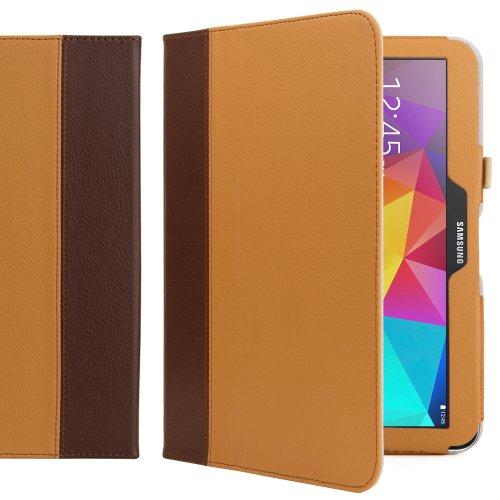 Gizmo Dorks 2-Tone PU Leather Book Folio Case Cover w/ St...