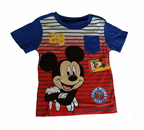 TB Club House Blue Grahics Pocket Tee for Toddler 3T