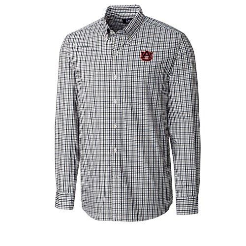 NCAA Auburn Tigers Men's Long sleeve Gilman Plaid Shirt, X-Large, Liberty (Tigers Mens Cutter)