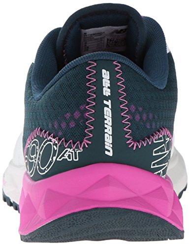 New Balance WT690 Trail Running Fitness - Zapatillas de deporte para mujer Seasalt/Green
