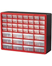 Akro-Mils 44 Drawer Plastic Parts Storage Hardware and Craft Cabinet, (20-Inch W x 6-Inch D x 16-Inch H), (1-Pack)