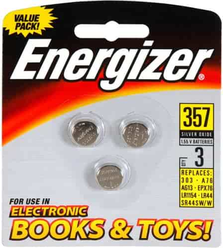 Energizer 357/303 Battery – 3 Count