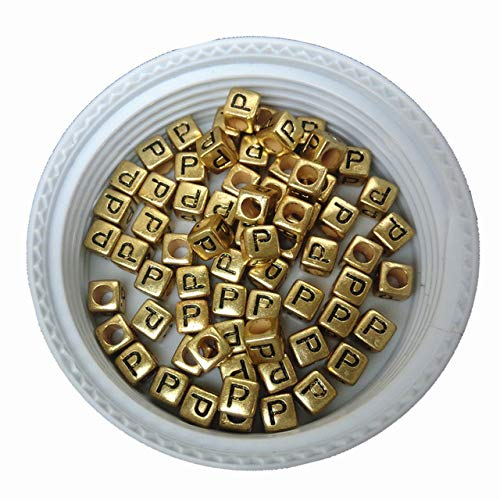 Beads Free Shipping Cube Single R Printing Gold Acrylic Letter Beads 500pcs 2600pcs 6*6mm Square Plastic Alphabet Jewelry Spacer Beads For Fast Shipping Beads & Jewelry Making