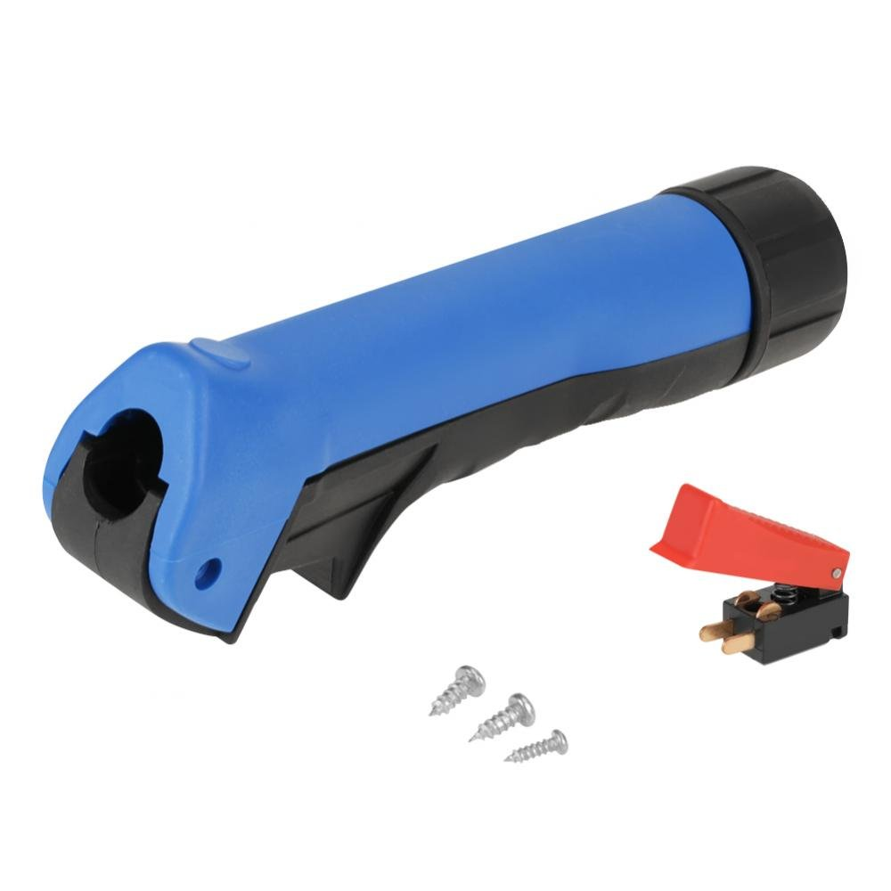 MIG Welding Torch Front Rubber Handle with Switch Button, Replacement handle for 15AK 25AK 36KD Wal front