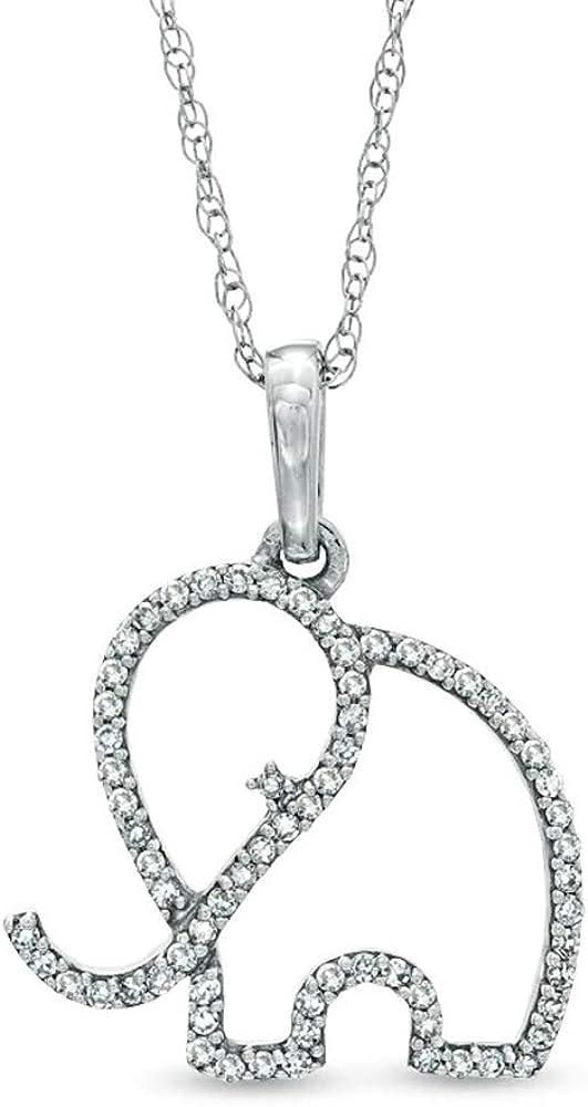 Or Jaune Plaqué Argent Sterling Diamant Boucles D/'Oreilles Créoles 1//5 cttw