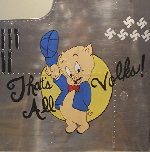 Nose Art Panel- Porky