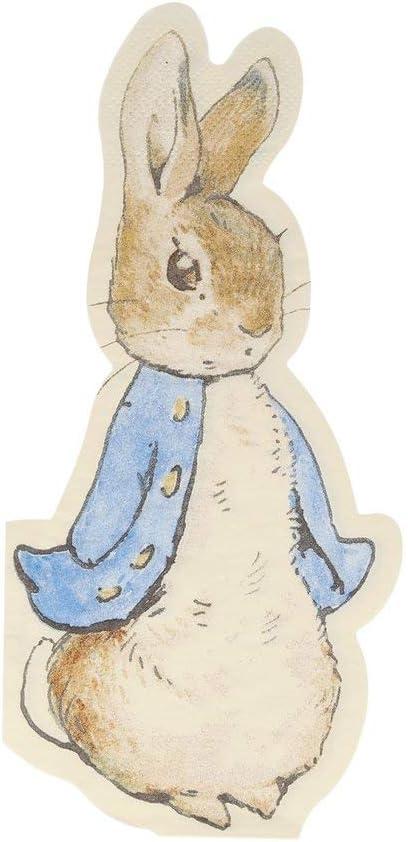 Servilletas dise/ño de conejo Meri Meri Peter Rabbit