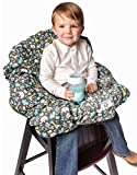 2-in-1 Shopping Cart Cover and High Chair