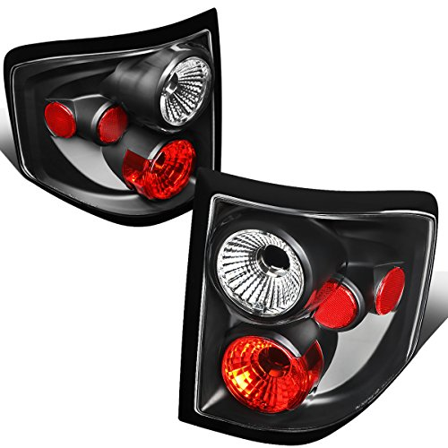 DNA Motoring CLOSE-TLZ-F150-0103-F2-BK Altezza Style Tail Light Black [For 04-08 Ford F150 Flareside]