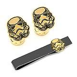 Stormtrooper Canto Bight Cufflinks Tie Bar Gift Set
