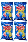 Fluffy Stuff Cotton Candy Bag: 24 Count - 2.5 oz (Pack of 4)