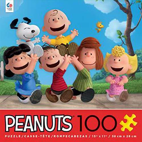 Ceaco Peanuts Movie Friends 100 Piece Puzzle