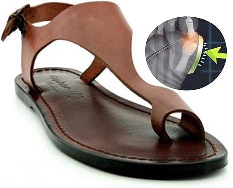 1 Pair Women PU Leather Flip Flops