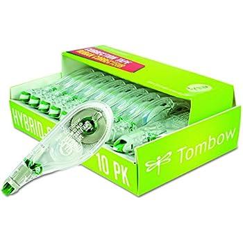 Tombow Mono Hybrid Correction Tape, 10-Pack