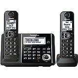 Panasonic KXTGF342B Dect 2-Handset Landline Telephone