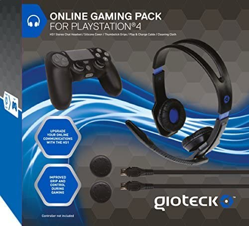 Gioteck Online Gaming Pack (PS4) by Gioteck: Amazon.es: Videojuegos