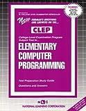 Elementary Computer Programming, Jack Rudman, 0837353106