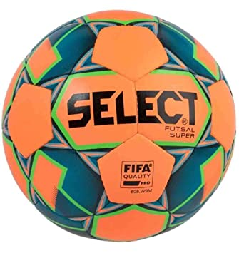 Select Super Balón de Futsal Adulto, Unisex, Naranja/Azul, Oficial ...