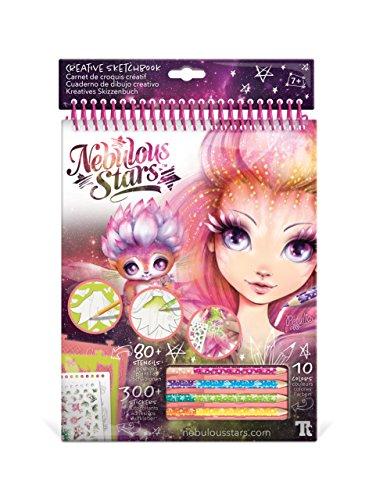 Nebulous Stars - Cuaderno de dibujo Creative Sketchbook Petulia (Educa Borrás 17594): Amazon.es: Juguetes y juegos