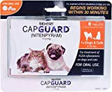 SENTRY Capguard (nitenpyram) Oral Flea Tablets, 2-25 lbs, 6 Count