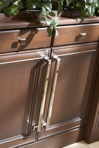 (Atlas Homewares AP10-PN 20-Inch Sutton Place Appliance Pull, Polished Nickel)