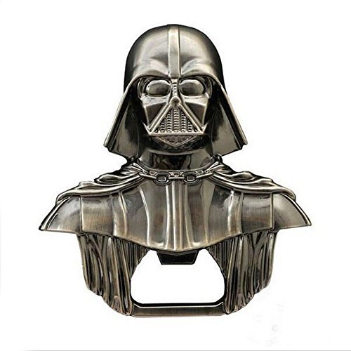 Metal Alloy Lord Darth Vader Wine Beer Drink Bottle Opener Party Tool Gift by NEW (50 Cal Beer Opener)